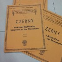 Czerny op.599 buku piano