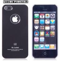 Air Jacket Hard Case Iphone 5 5S - Black