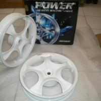 harga Velg Power Rose White Vario 110 - Beat - Mio - Xeon Tokopedia.com