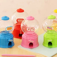 harga candy machine, candy dispenser, tempat permen, celengan permen SMALL Tokopedia.com