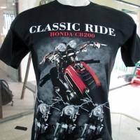 harga Kaos Motor Honda Cb 200 - Classic Ride Tokopedia.com