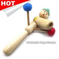Mainan Tradisional Otok Otok Kayu Pinokio | Othok Othok