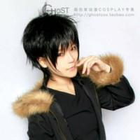 Wig Izaya Orihara Durarara Ghostcos import wig cosplay taobao