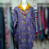 Kemeja Batik Banyu Biru wrn ungu