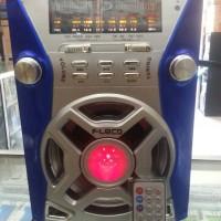 Radio 4 Band AM/FM/SW1-2 dgn USB/SD CARD + MIC wireless bisa karaoke