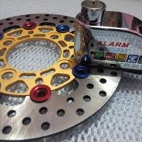 DISC LOCK ALARM GEMBOK / KUNCI CAKRAM DISK MOTOR ANTI MALING