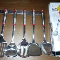 Jual Kitchen Tools Stainless Steel Oxone OX-963 Spatula / Sutil anti karat Murah
