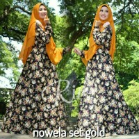 NEW ARRIVAL! Gamis Katun Jepang Nowela Syar'i by Rins Hijab