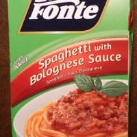 La Fonte Pronto Spaghetti Bolognese