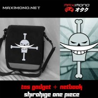 Tas Anime Gadget dan Netbook Shirohige One Piece