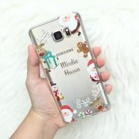 PO Custom Case Christmas Theme for Iphone/Samsung/Oppo/Asus/LG/BB dll