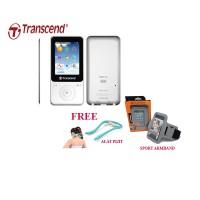 Transcend MP3 Fitness Recorder Player MP710 8GB - Putih + Gratis Alat