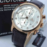 Giotona GT7329 Rosegold Dark Brown Leather