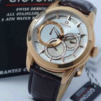 Giotona GT7330 Rosegold Dark Brown Leather
