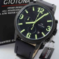 Giotona GT7336 Green Black Leather