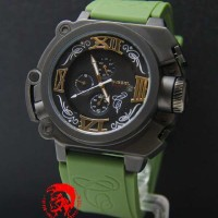Diesel Batman Black Green Rubber