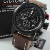 Giotona GT7335 Black Dark Brown Leather