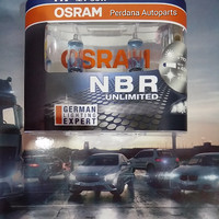 Lampu Mobil OSRAM Night Breaker / Nightbreaker (NBR) Unlimited NBU H7
