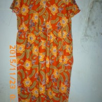 Daster tulip batik/ baju tidur ibu menyusui