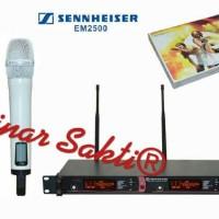 harga Mic Wireless Sennheiser Em 2500 ( Handheld ) Tokopedia.com