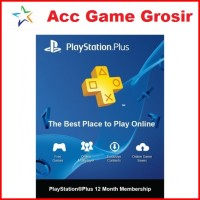 Sony Playstation Plus Indonesia 1 Tahun [PS +]