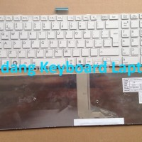 Keyboard Laptop TOSHIBA Satellite C50-A C55-A L50-A L55-A White