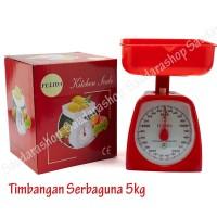 Timbangan Kue / Timbangan dapur / Timbangan Serbaguna FULIDA 5kg