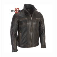 harga Jaket Kulit Asli Garut Kg 97 136 New Black Sporty Tokopedia.com