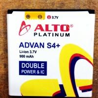 Baterai Advan S4+ Alto platinum double powwe r