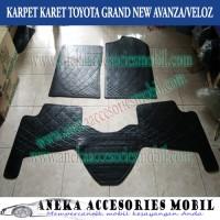 Karpet Karet/Lantai/Removable Floor Mat Toyota Grand New Avanza/Veloz