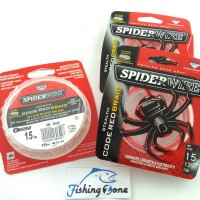 harga SpiderWire STEALTH CODE RED BRAID Red Rouge 125YD - 15LB Dia.0.20mm Tokopedia.com