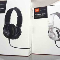 JBL Synchros S300i Premium On-Ear Stereo Headphones ORIGINAL