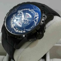 Roger Dubuis 2998 Double Time Fullblack Leather