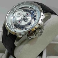 Roger Dubuis 2998 Double Time Silver White-Dial Le