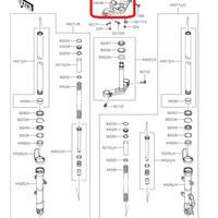 harga Segitiga Atas Stang Kawasaki Ninja 250fi Original, Ready Stock Tokopedia.com