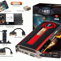 HIS HD 7970 3G DDR5 384bit