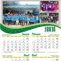 Jual kalender dinding 2016 32 x 48 cm (pribadi/organisasi) caturwulan Murah