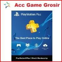 Sony Playstation Plus Indonesia 3 Bulan [PS +]