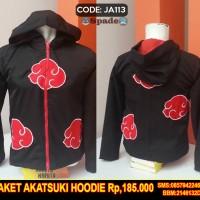 harga Jaket Anime Naruto Versi Akatsuki,hoodie,sweater Distro (spade) Tokopedia.com
