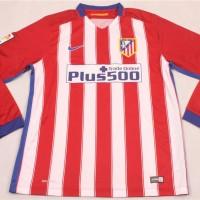 Jersey Bola Grade Ori Atletico Madrid Home 2015/2016 Long Sleeve