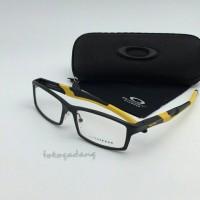 harga Frame Kacamata Oakley Half Jacket Alloy Black list Yellow Tokopedia.com