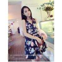 harga Dress Korea Bunga Import Tokopedia.com