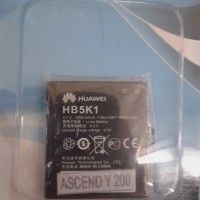 Baterai Huawei Ascend Y200 HB5K1 1250Mah Original Packing Mcom