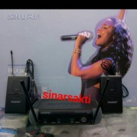 harga Mic Wireless Shure Pgx 242 ( Clip On + Clip On ) Tokopedia.com