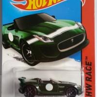 Hotwheels Jaguar F-Type Project 7 '15