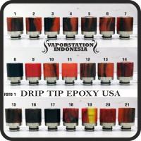harga Drip Tips Epoxy Usa (nolli Stabwood Model) Katalok No. 1 - 84 Tokopedia.com