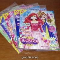 Buku BP Bongkar Pasang Barbie Princess Dress Book mainan jadul 90an