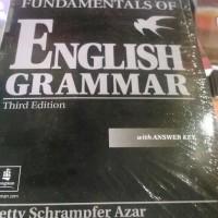 harga FUNDAMENTALS OF ENGLISH GRAMMAR Tokopedia.com