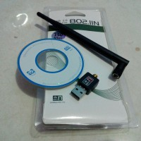 USB WIFI NANO 150Mbps Antena (Komputer Bisa Wifi)