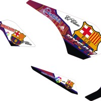 modif stiker yamaha byson barcelona